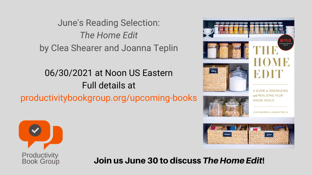 The Home Edit - Book Club Discussion